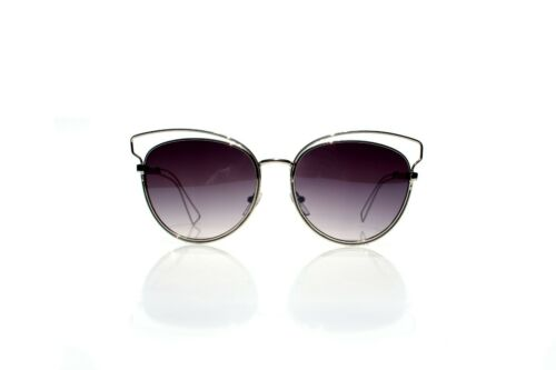 New Fashion Designer Double Wire Cat Eye Style Sunglasses A-27