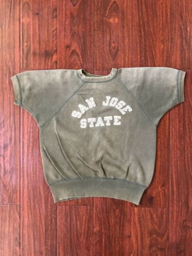 Vtg 50s 60s San Jose State University Sweatshirt C