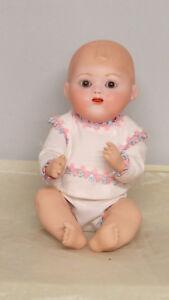 Bambino-n-51-Bleuette-frere-Poupee-Ancienne-Reproduction-Antique-Doll