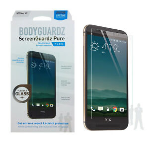 BodyGuardz-Pure-Case-Friendly-Tempered-Glass-Screen-Protector-For-HTC-One-M9