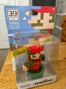 Amiibo 30th Anniversary MARIO CLASSIC COLOR  * New in Box