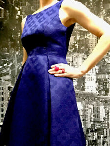 Leona Edmiston Dress, Size 8, French Navy/ Blue, Brand New With Tag