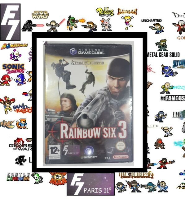 Tom Clancy's Rainbow Six 3 GAME CUBE NEUF NEW VERSION PAL FRANÇAISE.