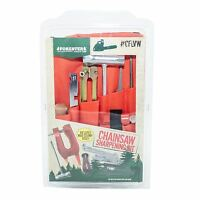Chainsaw Deluxe Sharpening Kit W/ Stump Vice, For Large Saws 7/32 File,cflvw732