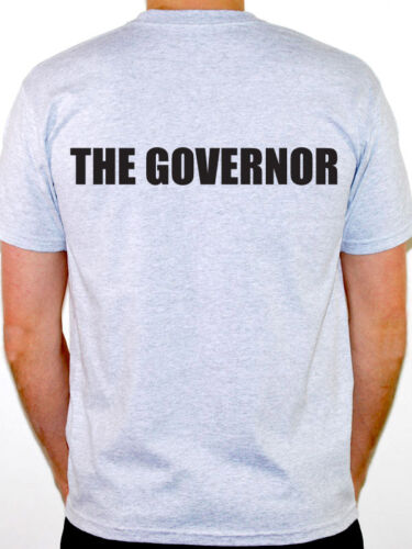 Novelty Boss THE GOVERNOR Humorous Themed Mens T-Shirt Public Official