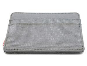Da-Uomo-Herschel-Supply-Co-porta-carte-di-credito-wallet-grigio