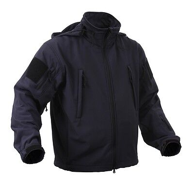 US SPEC OPS Softshell Fleece TACTICAL SOFTSHELL JACKET JACKE Navy blue 4XL XXXXL
