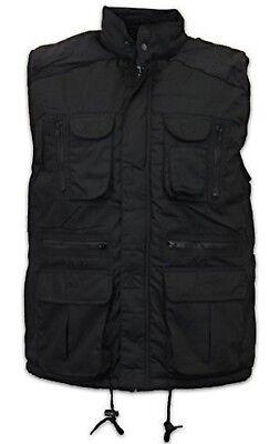 MENS BLACK BODYWARMER COAT GILET GILLET JACKET BNWT = M L XL XXL 3XL
