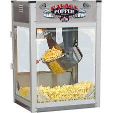 Commercial Popcorn Machine w/ 16 Oz. Stainless Steel Kettle Popper Maker ~ 120V
