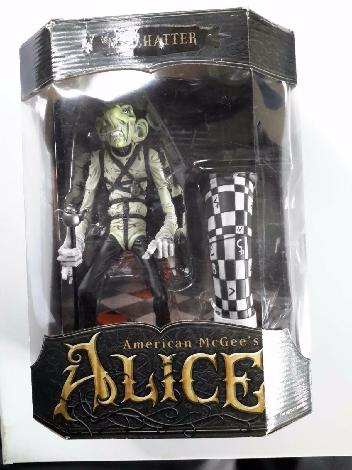 MAD HATTER SERIES ONE AMERICAN MCGEE'S MCGEE'S MCGEE'S ALICE ACTION FIGURE MINT IN BOX MIB NRFB 1c3c9f