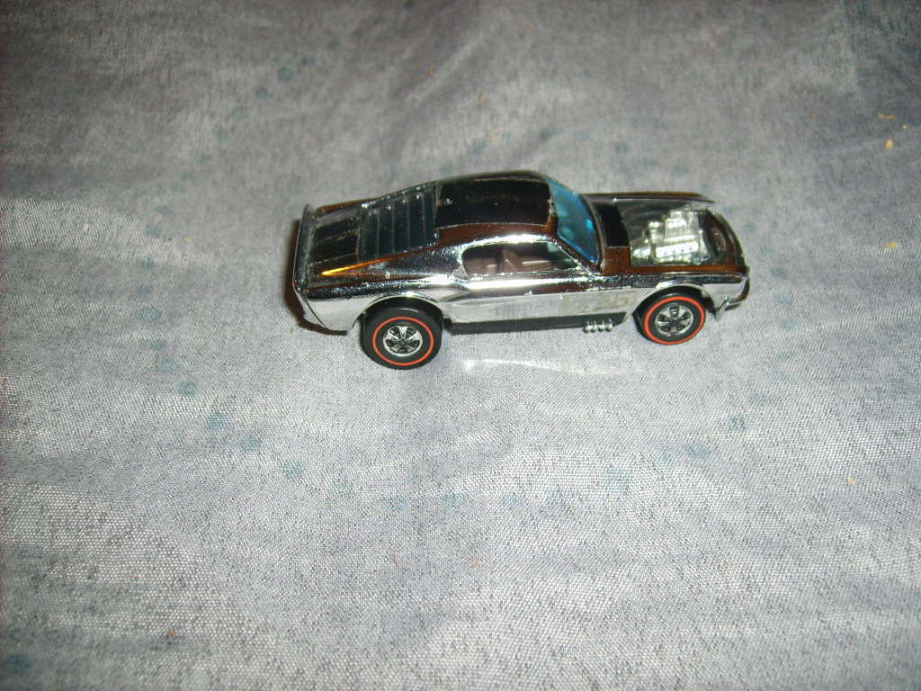 Hot Wheels Boss Hoss - Chrome - EXCELLENT - Vintage Ford Mustang rossoline