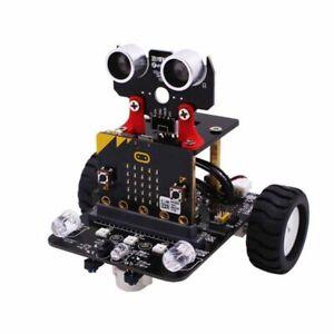 2019 DernièRe Conception Smart Robot Auto Yahboom Avec Ir Et Bluetooth-app (sans Mikrobit) AgréAble En ArrièRe-GoûT