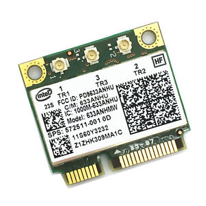Details about Intel Ultimate-N 6300 633ANHMW WiFi Wireless Card for  Thinkpad FRU 60Y3233