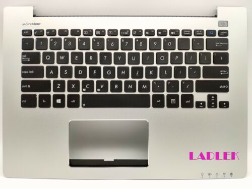 US Silver Palmrest keyboard for Asus S300C//S300CA//R303CA//V300CA Top case