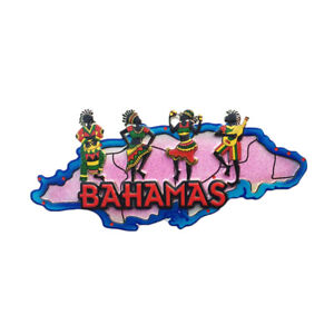 Bahamas 3D Refrigerator Magnet Souvenir Gift Collection Home and Kitchen Decoration Magnetic Sticker Fridge Magnet