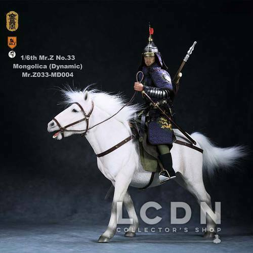 Mr.Z Real Animal Series No.33 1 6 Mongolica Horse Cheval Statue 49cm MD004