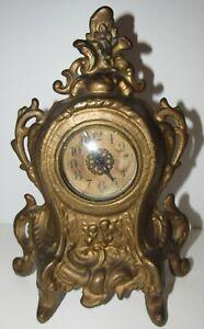 Antique-Wind-up-Desk-Clock-30-Hour