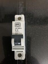 MK 32 Amp Type B 6ka MCB Circuit Breaker LN5932S Sentry for sale online