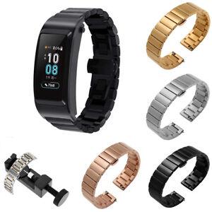 For-Huawei-TalkBand-B5-Wrist-Smart-Bracelet-Watch-Band-Strap-Stainless-Steel-USA