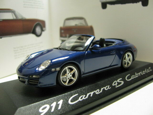 1 43 Minichamps Porsche 911 4S Cabriolet diecast dealer version