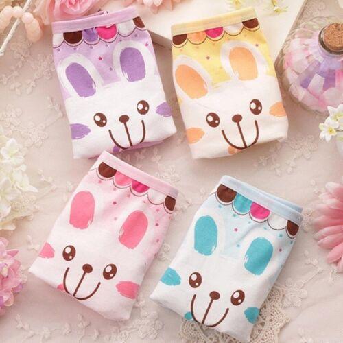 Smile Underpants Cotton Rabbit Kids Underwear Cartoon Boxer Baby Girls