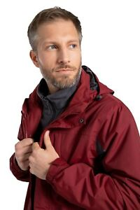 Mountain-Warehouse-Mens-Thunderstorm-3-in-1-Waterproof-Jacket-Coat-Fleece-Inner