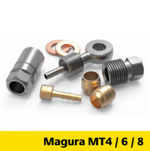 Bicycle Disc Brake Hydraulic Hose Adapter Connecter for Magura MT2 MT4 6 8
