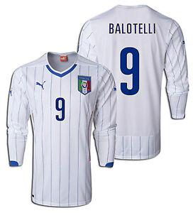 999be518ac6 PUMA ITALY MARIO BALOTELLI LONG SLEEVE AWAY JERSEY FIFA WORLD CUP ...