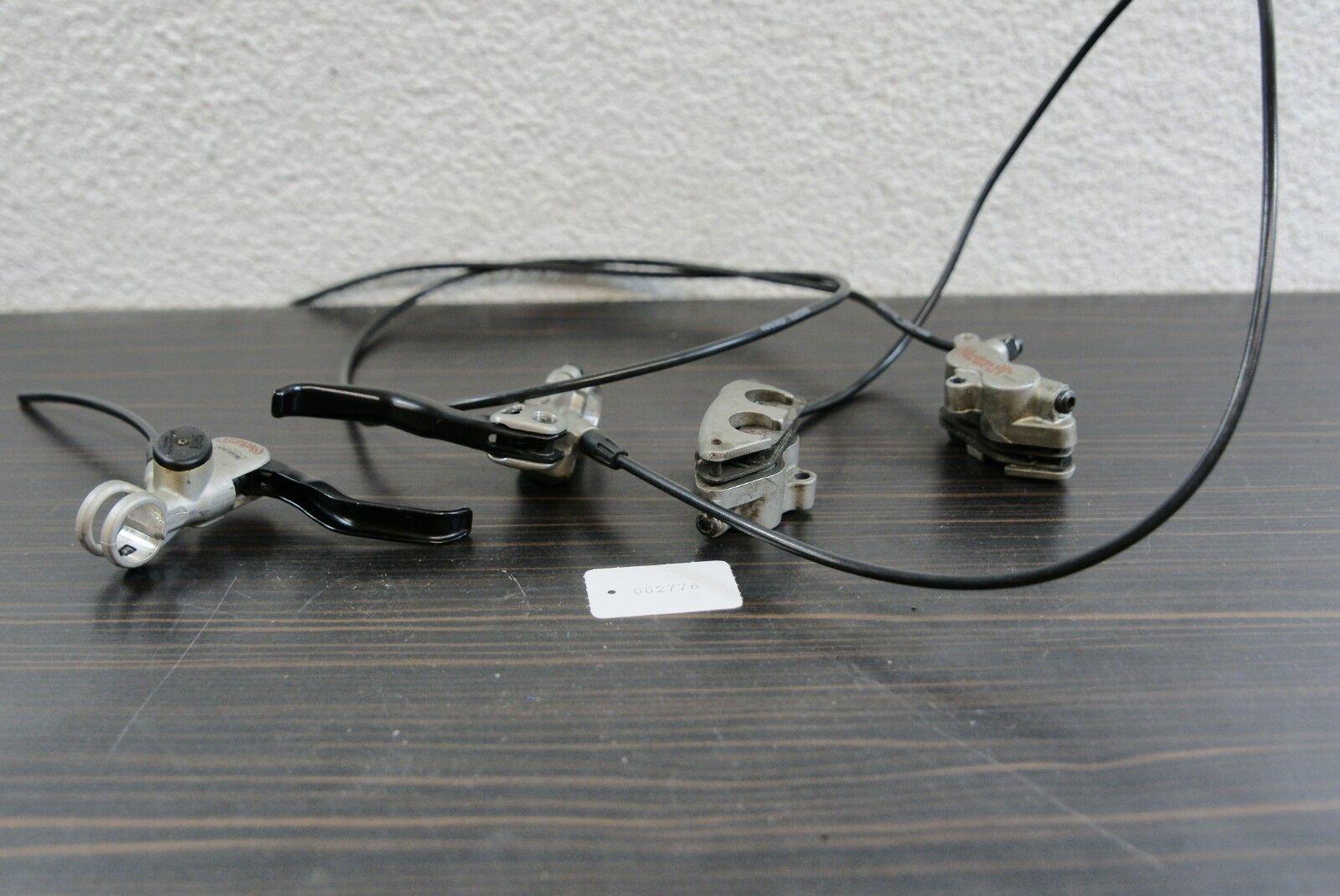 Magura Gustav M Scheibenbremsen Satz für Vorne & Hinten Kult Retro Selten