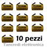 Batteria SC 1.2v 2000 mAh ni-cd ricaricabili per saldatura (10 pezzi) 1800mAh