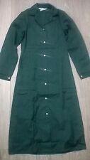 Ladies uniform dress lab coat housekeeper cleaner Science NHS Size 6-8 Green NEW