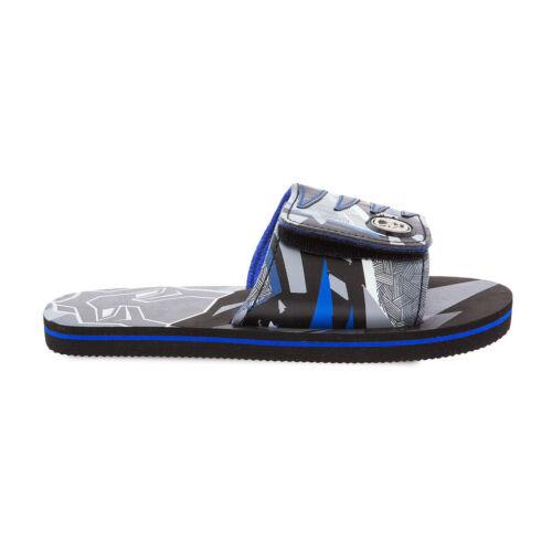 Disney Store Black Panther Sandals Flip Flops Kids Size 7//8 9//10 11//12 13//1 2//3