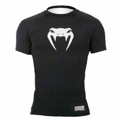 Details about  /Mens Gym Sport MMA T-Shirt Top UFC Base Layer Rashguard Sleeve Sport