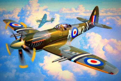 Spitfire Diamond Mosaic Painting Kit 40 cm x 30 cm