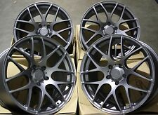 "18"" FOX GM MS007 ALLOY WHEELS FITS AUDI A3 A4 A6 A8 Q3 Q5 TT 06  5X112"