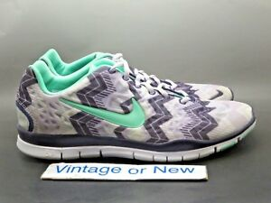new style 452f5 f0342 Details about Women's Nike Free TR Fit 3 Purple White Green Training Shoes  580406-070 sz 11
