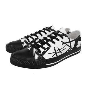 7779edda5857ee Image is loading EDDIE-VAN-HALEN-White-Lo-Top-Shoes-Sneakers-