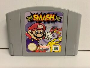 Super Smash Bros. - Nintendo 64 N64 Original Juego UK PAL