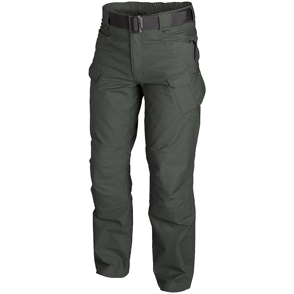 Helikon Urban Tactical Pants Herren Cargo Trekking Outdoorhose Jungle Grün