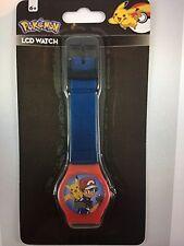 Pokemon - Pokemon LCD Digital Watch Blue. Brand New!