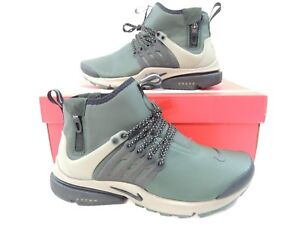 ac3cb677022b Nike Air Mid Presto Utility Grove Green Khaki Black Waterproof ...