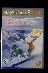 PS2-SNOW-RIDER-Nuovo-sigillato-Da-Phoenix-Games