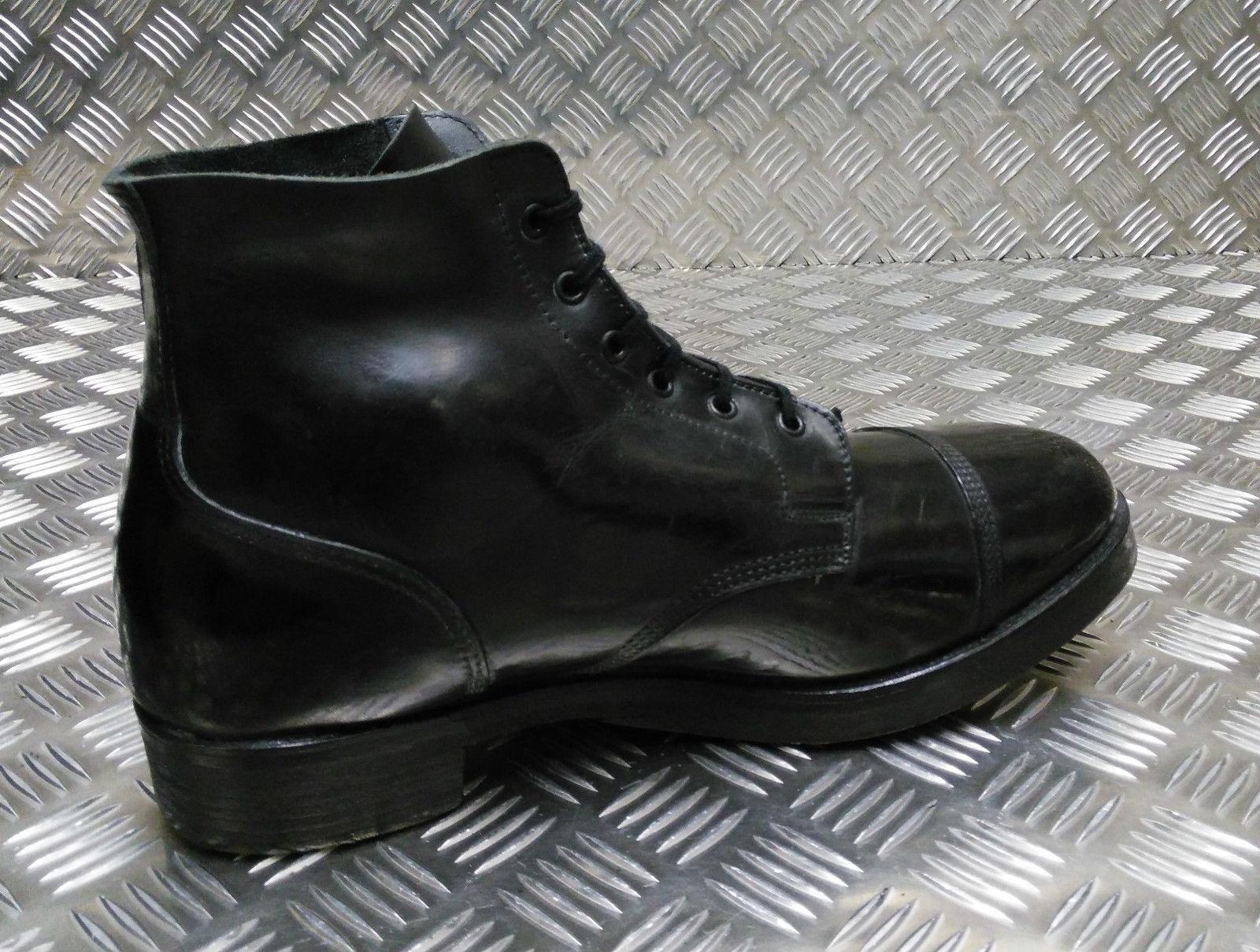 Genuine British Military Issue Stiefel Leder Ammo Parade Dress Stiefel Issue - All Größes ff0385