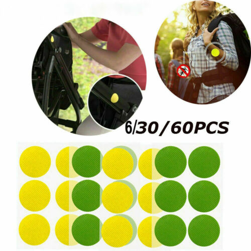 Lot MoskiPatch Mosquito Bugs Repellent Natural Non Toxic Pure Patch Sticker Sy