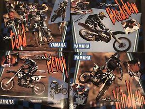 Vintage-MX-1996-Factory-Yamaha-Team-Posters-Signed-Bradshaw-amp-Dowd-Rare