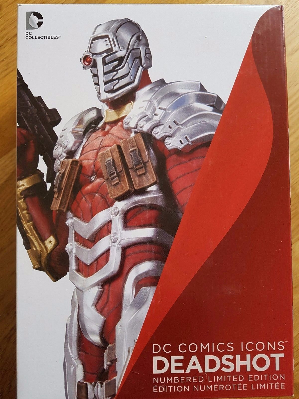 Dc Comics icone DEADSHOT DEADSHOT DEADSHOT Statua UK Venditore 0ba8a8