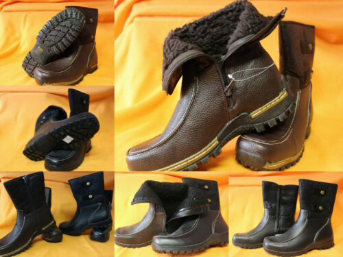 37 38 39 40 41 Boots Stiefel Damen Mädchen warm schwarz oder braun Gr