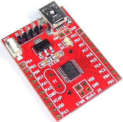 2PCS STM8S003F3P6 STM8 Minimum System Development Board SWIM Debug