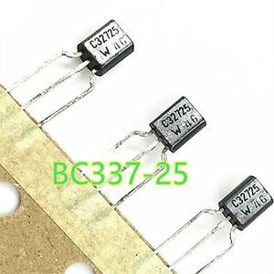 100PCS-BC337-BC337-25-each-PNP-NPN-Transistor-TO-92-Triode-0-8A-45V