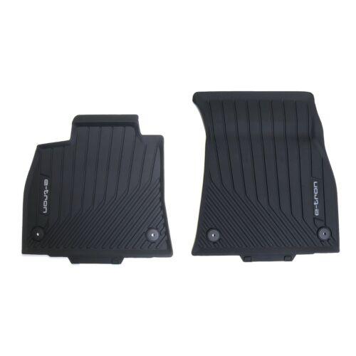 Audi e-tron Allwetterfussmatten vorn 2 tlg Gummifussmatten Matten Fußmatten NEU